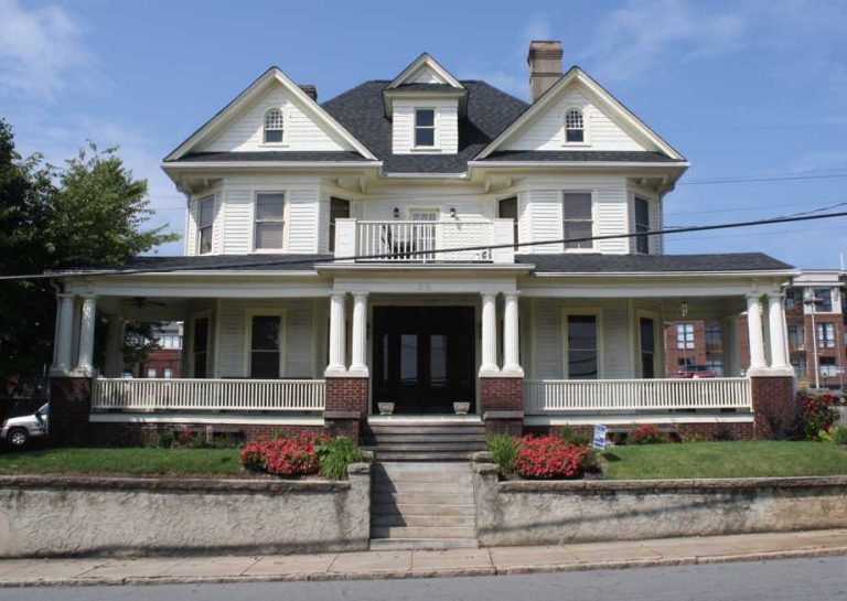 The Roediger House in Winston Salem NC
