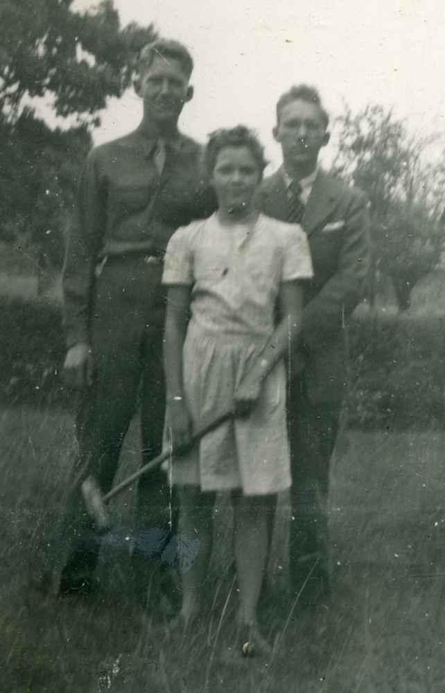 Charles Frank, Nina Ruth, Frederick