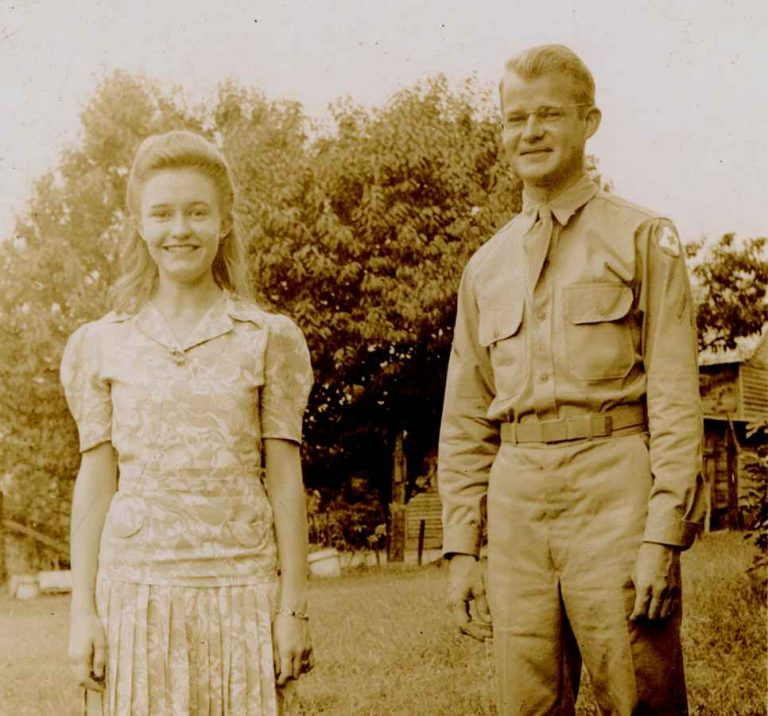 Betty with brother Bill