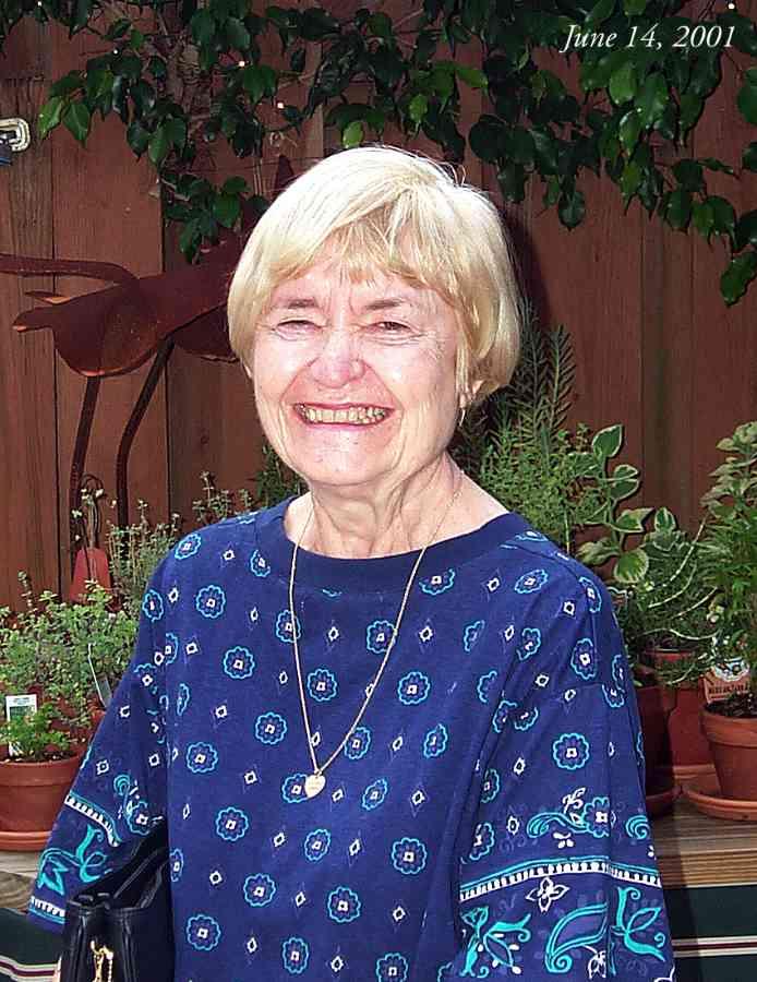 Betty in 2001