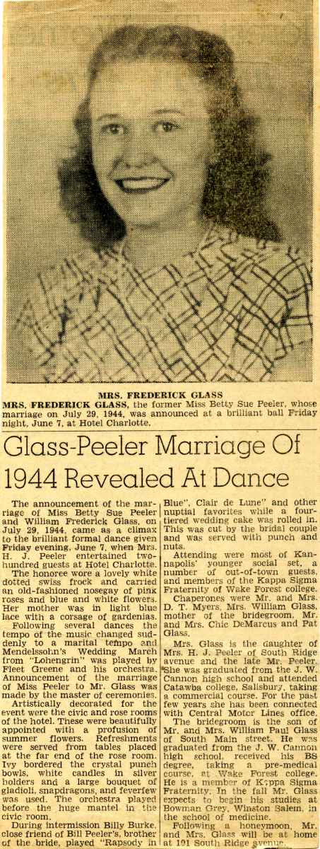 Betty Sue, Frederick marriage reveal ball