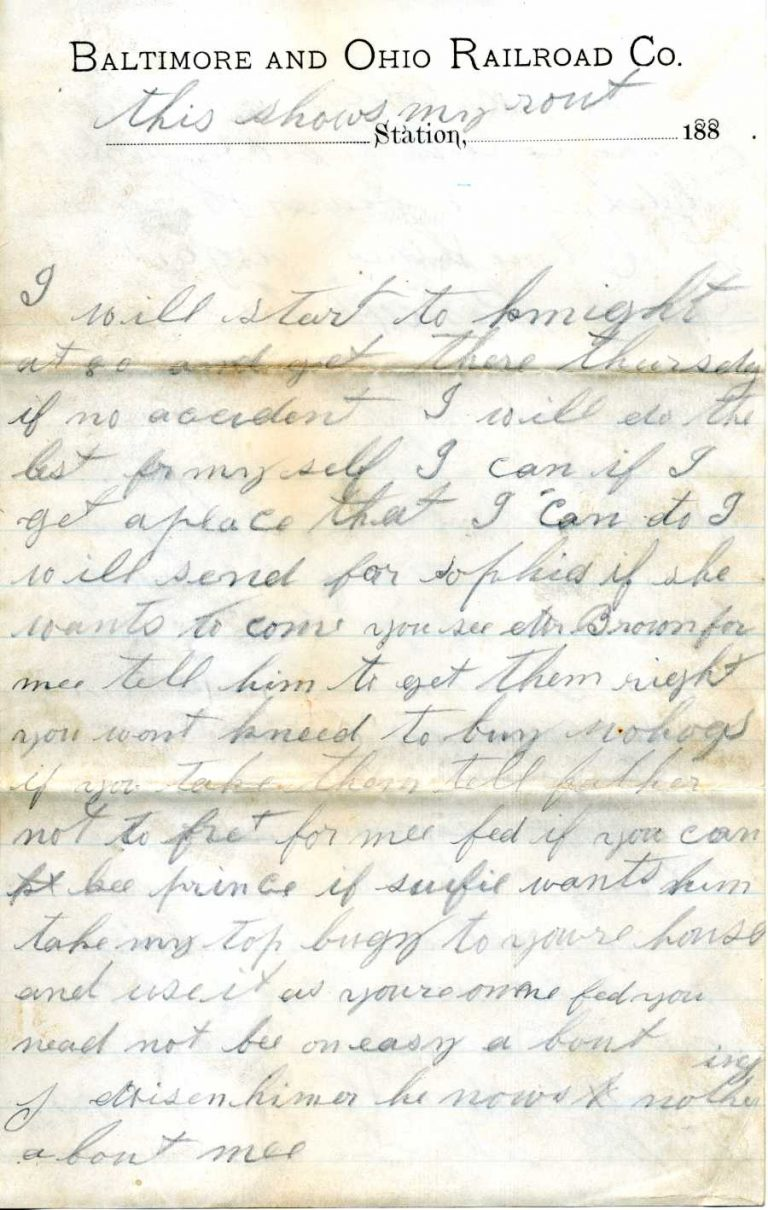 Henry leaving town letter - page 3
