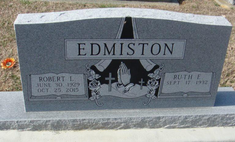 Edmiston headstone